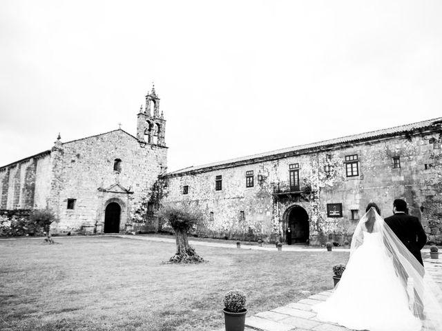 La boda de Alberto y Marta en Lalin (Casco Urbano), Pontevedra 1