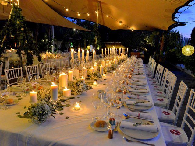 La boda de Franklin y Albane en Santa Maria (Isla De Ibiza), Islas Baleares 5
