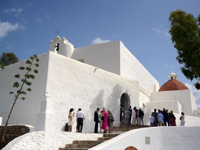 La boda de Franklin y Albane en Santa Maria (Isla De Ibiza), Islas Baleares 6