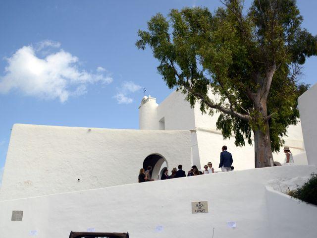 La boda de Franklin y Albane en Santa Maria (Isla De Ibiza), Islas Baleares 9