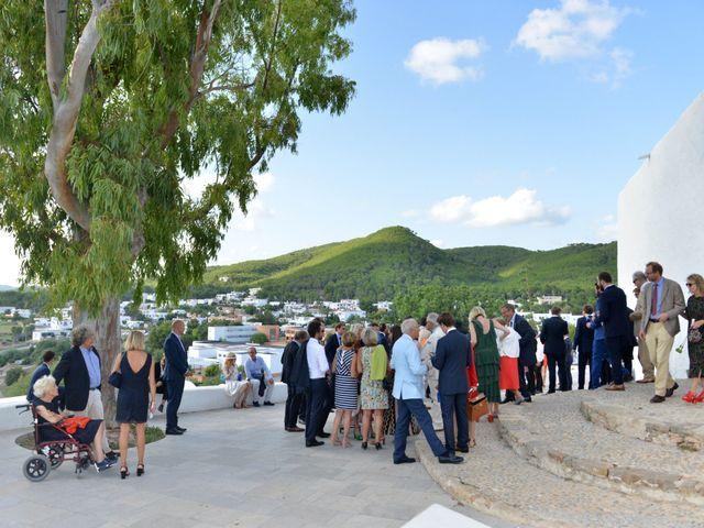 La boda de Franklin y Albane en Santa Maria (Isla De Ibiza), Islas Baleares 36