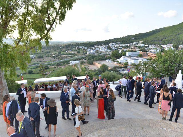 La boda de Franklin y Albane en Santa Maria (Isla De Ibiza), Islas Baleares 37