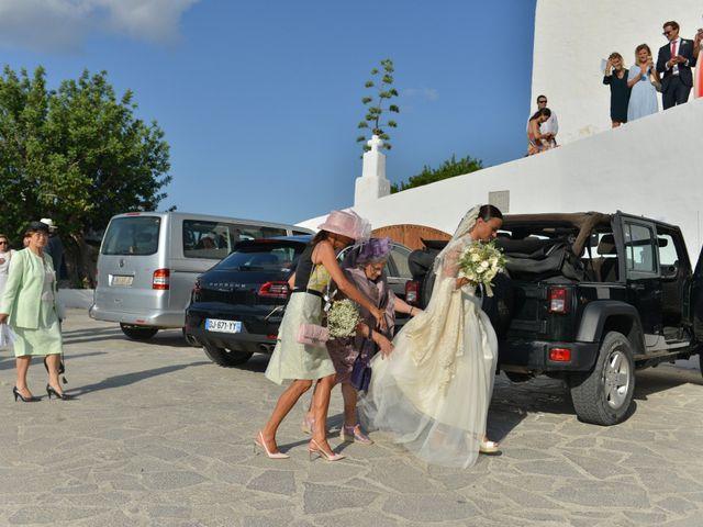 La boda de Franklin y Albane en Santa Maria (Isla De Ibiza), Islas Baleares 38