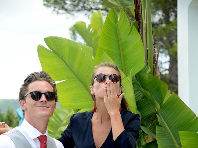 La boda de Franklin y Albane en Santa Maria (Isla De Ibiza), Islas Baleares 56