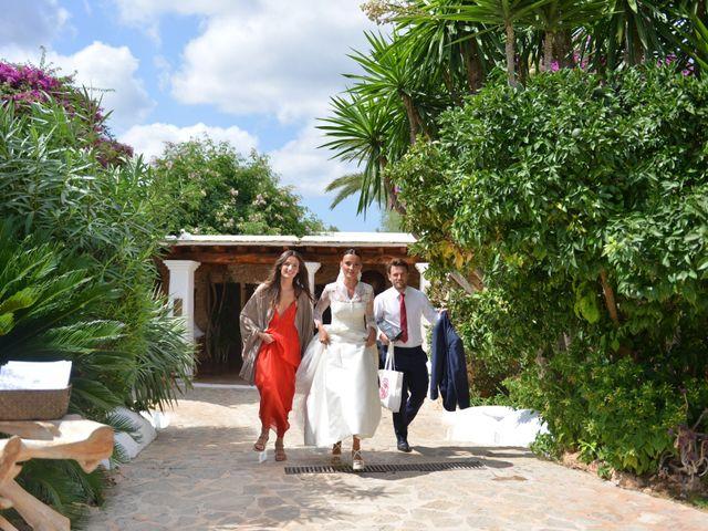 La boda de Franklin y Albane en Santa Maria (Isla De Ibiza), Islas Baleares 69