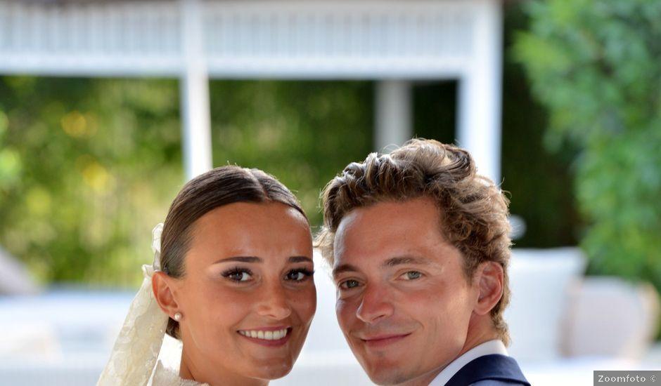 La boda de Franklin y Albane en Santa Maria (Isla De Ibiza), Islas Baleares