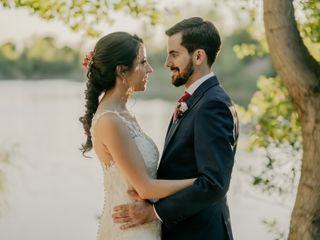 La boda de Alberto y Carolina