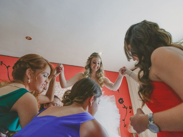 La boda de Javi y Jessica en Fraga, Huesca 18