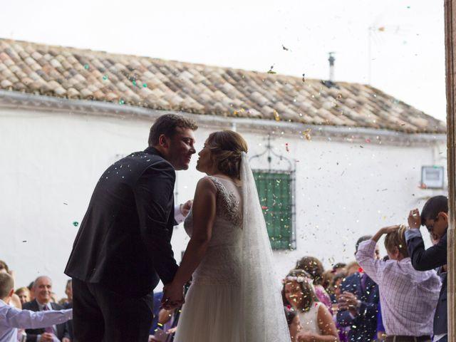 La boda de Carlos y Ana en Tribaldos, Cuenca 20