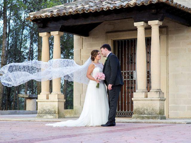 La boda de Carlos y Ana en Tribaldos, Cuenca 1