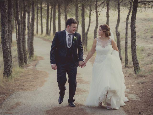 La boda de Carlos y Ana en Tribaldos, Cuenca 2