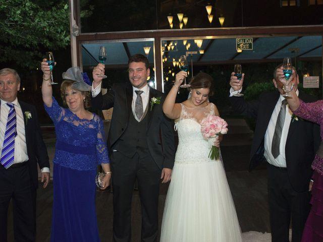 La boda de Carlos y Ana en Tribaldos, Cuenca 25