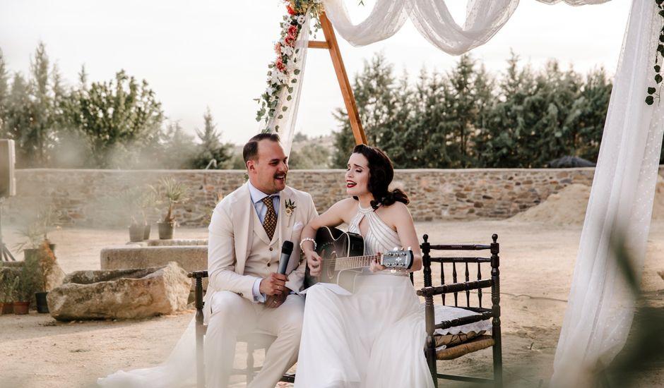 La boda de Ángela y Rafa en Trujillo, Cáceres