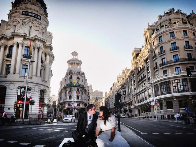 La boda de José Manuel y Lorena en Miajadas, Cáceres 61