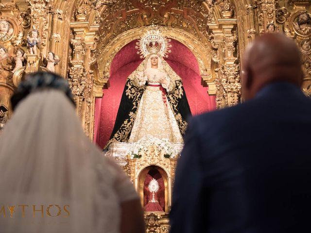 La boda de Juan Carlos y Eva Maria en Sevilla, Sevilla 1