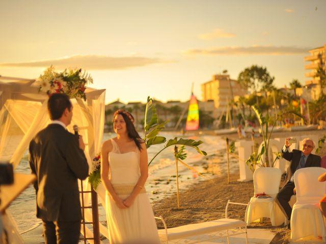 La boda de Antonio y Sonia en La Manga Del Mar Menor, Murcia 18
