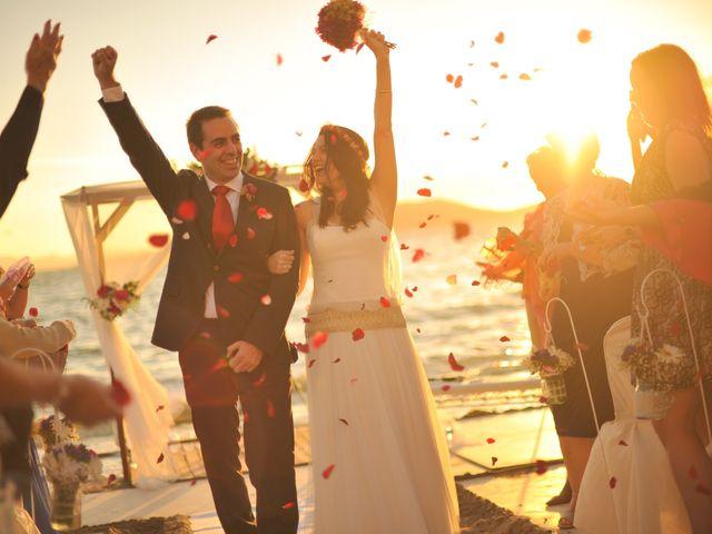 La boda de Antonio y Sonia en La Manga Del Mar Menor, Murcia 23