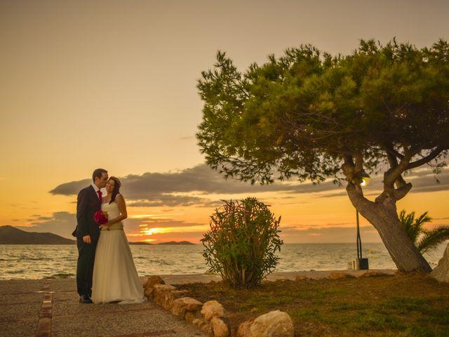 La boda de Antonio y Sonia en La Manga Del Mar Menor, Murcia 26