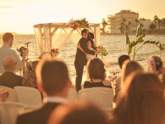 La boda de Antonio y Sonia en La Manga Del Mar Menor, Murcia 19