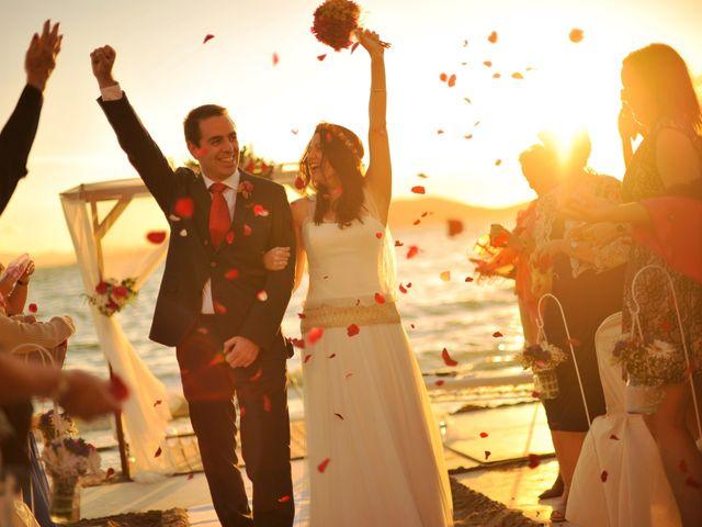 La boda de Antonio y Sonia en La Manga Del Mar Menor, Murcia 41
