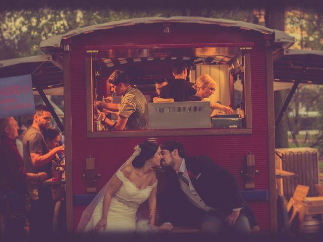 La boda de César y Andrea en Ponferrada, León 1