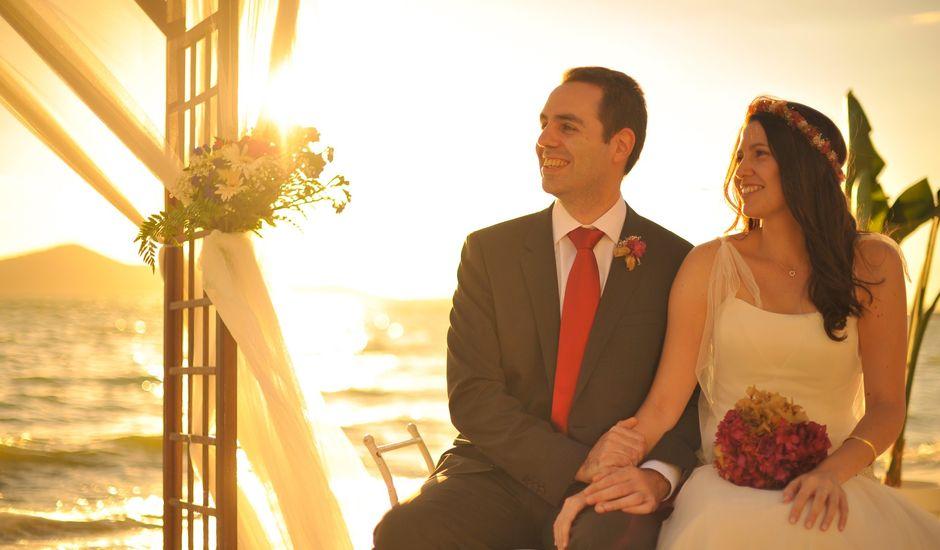 La boda de Antonio y Sonia en La Manga Del Mar Menor, Murcia