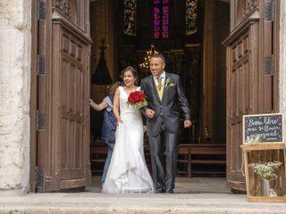 La boda de César  y Carolina
