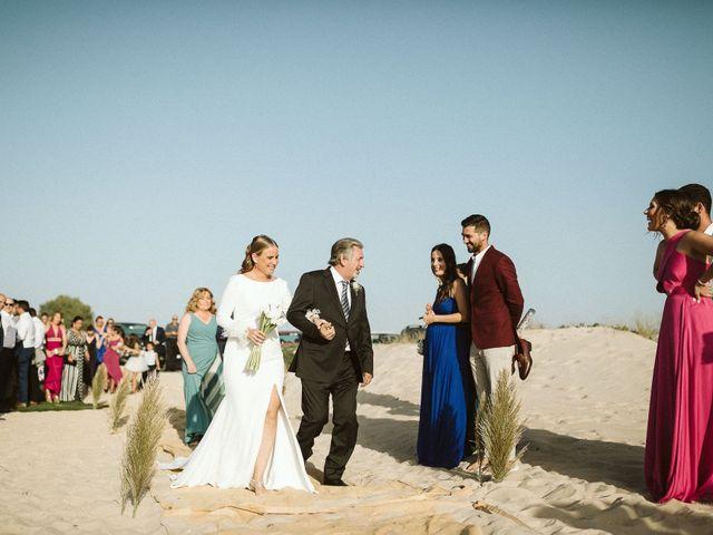 La boda de Cano y Ana en El Palmar, Cádiz 42