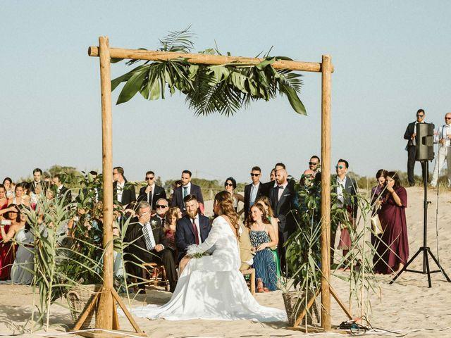 La boda de Cano y Ana en El Palmar, Cádiz 51