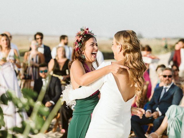 La boda de Cano y Ana en El Palmar, Cádiz 60