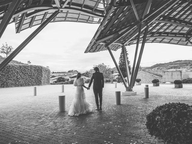 La boda de David y Nekane en Elciego, Álava 49