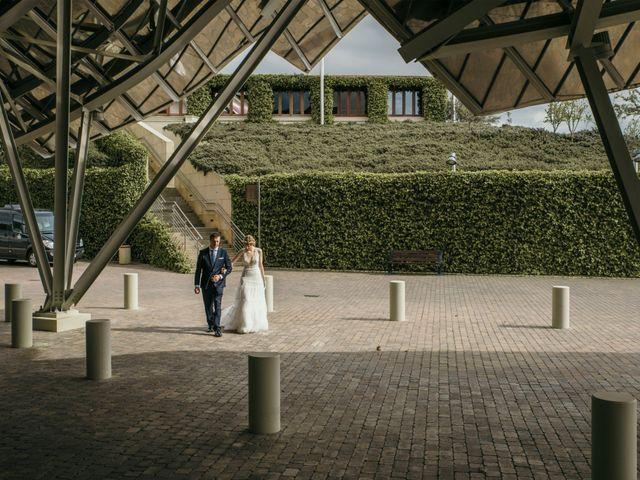 La boda de David y Nekane en Elciego, Álava 54