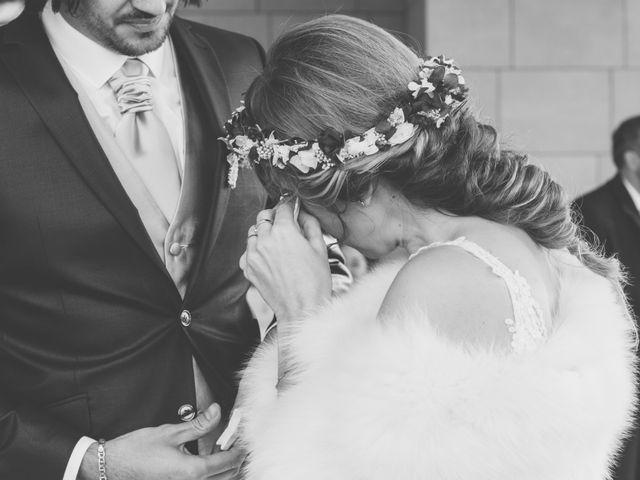 La boda de David y Nekane en Elciego, Álava 61