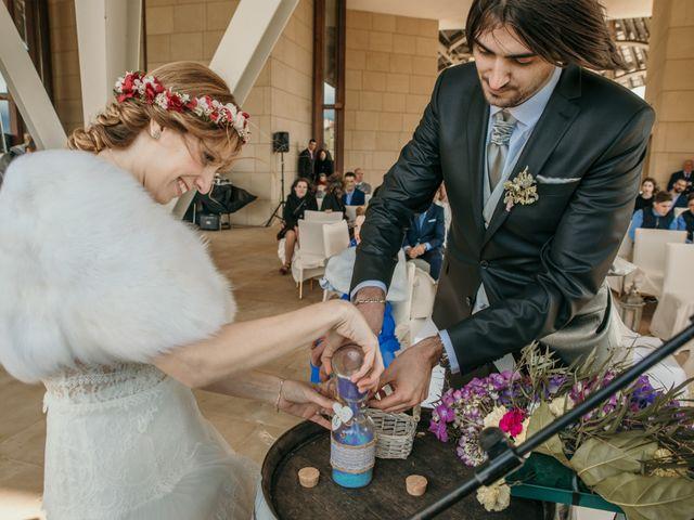 La boda de David y Nekane en Elciego, Álava 77