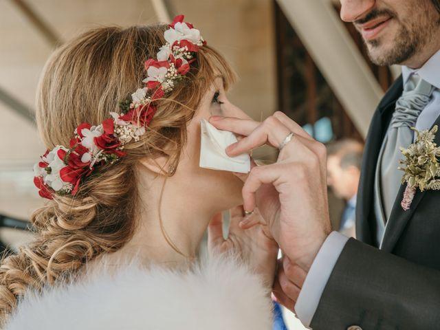 La boda de David y Nekane en Elciego, Álava 79