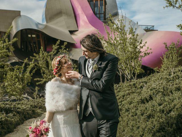 La boda de David y Nekane en Elciego, Álava 96