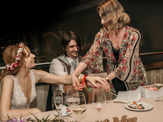 La boda de David y Nekane en Elciego, Álava 112