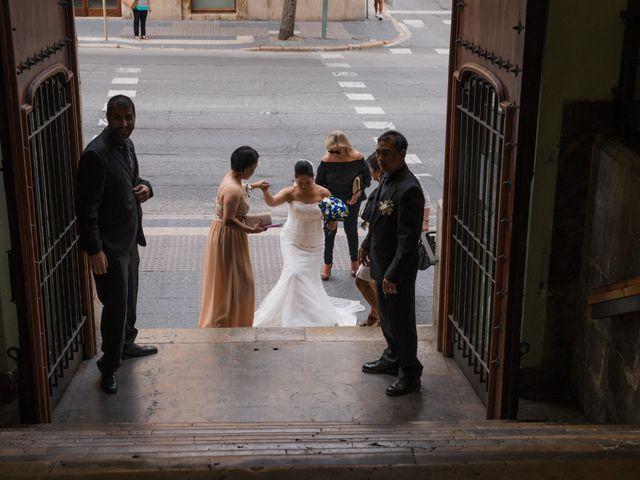 La boda de Arlene y Marco en Tarragona, Tarragona 22