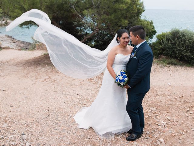 La boda de Arlene y Marco en Tarragona, Tarragona 29