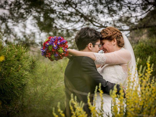 La boda de Meritxell y Pere