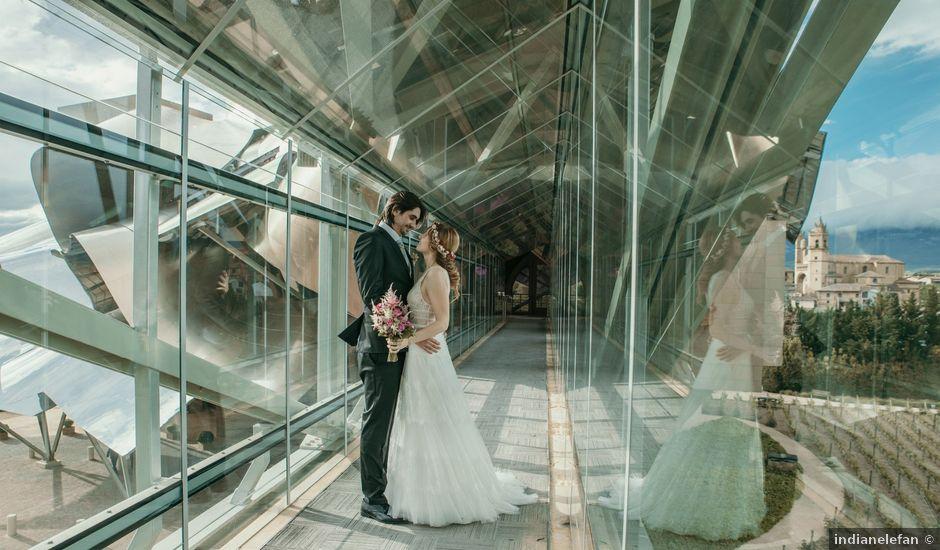 La boda de David y Nekane en Elciego, Álava