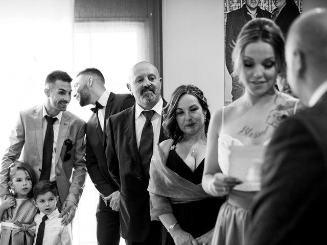 La boda de Dani y Sandra en Sant Vicenç De Montalt, Barcelona 22