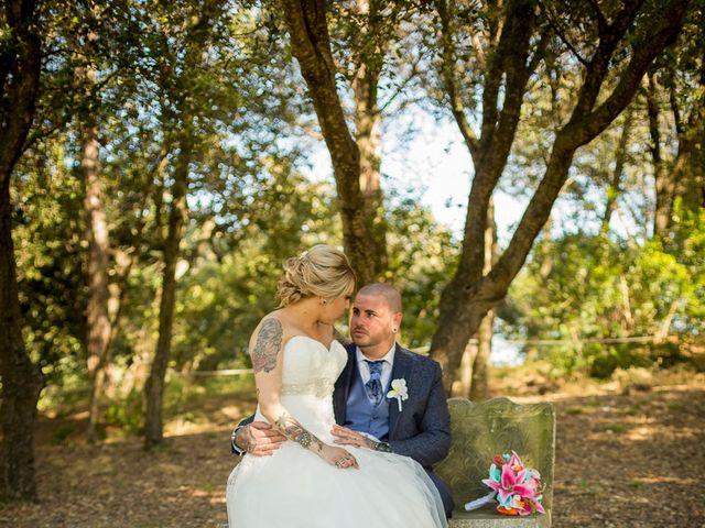 La boda de Dani y Sandra en Sant Vicenç De Montalt, Barcelona 63