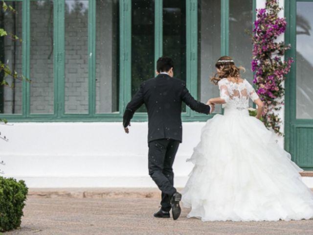 La boda de Andrea y Tono