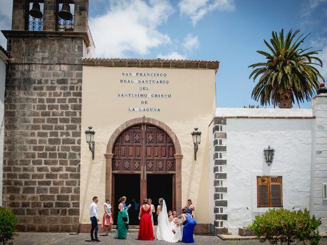 La boda de Miguel y Sahira en Puerto De La Cruz, Santa Cruz de Tenerife 1