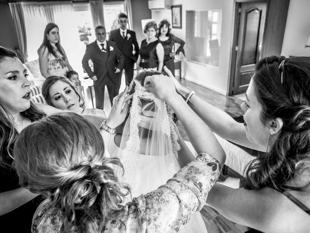 La boda de Mikel y Verónica en Hervas, Cáceres 2
