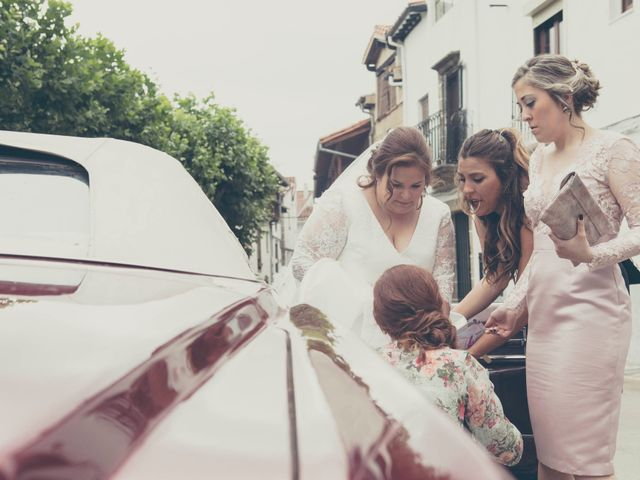 La boda de Mikel y Verónica en Hervas, Cáceres 5