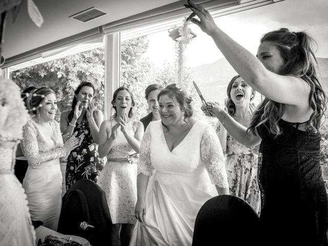La boda de Mikel y Verónica en Hervas, Cáceres 19