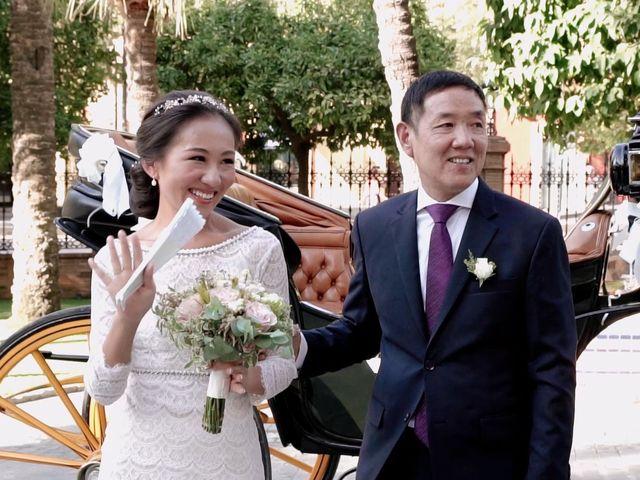 La boda de Alberto y Ying en Sevilla, Sevilla 50