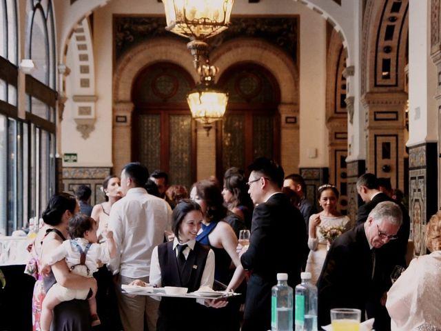 La boda de Alberto y Ying en Sevilla, Sevilla 77